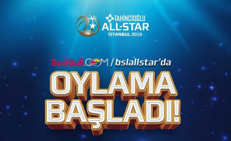 Tahincioğlu All-Star 2019'un oylaması RedBull.com'da