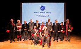 Kadir Has Üniversitesi'nin İlk Emeritus Profesörleri