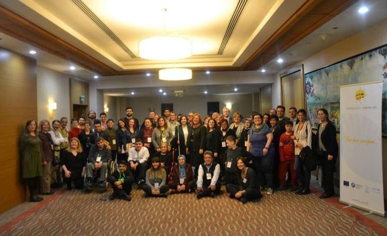Aralık 2018, Engelli Çocuk Hakları Ağı Konferansı