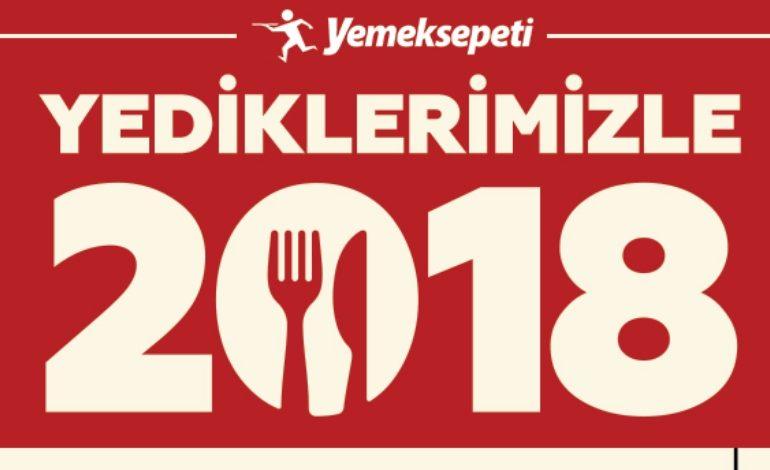 Yemeksepeti'nden 2018 Lezzet Almanağı