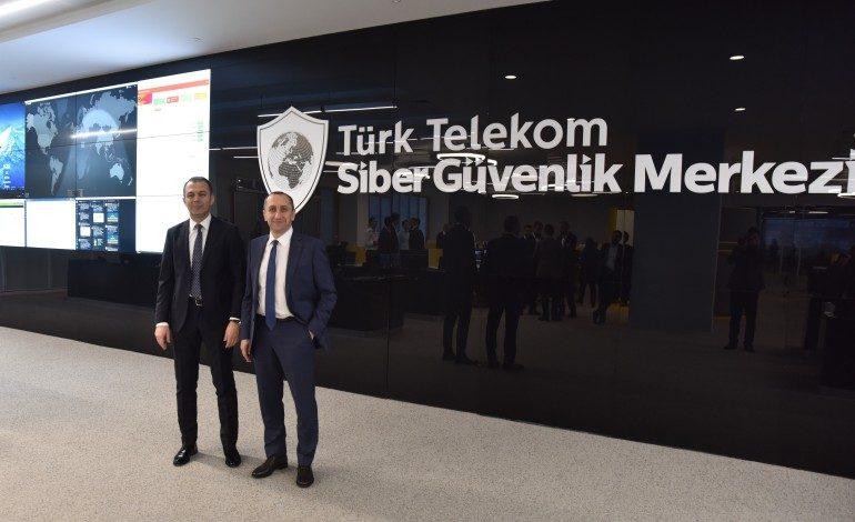Türk Telekom'danTürkiye'nin en büyük Siber Güvenlik Merkezi