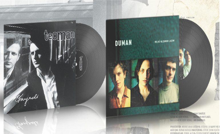 Türkçe Rock Müziğin Efsane Albümleri Plak Formatında Müzikseverlerle Buluşuyor
