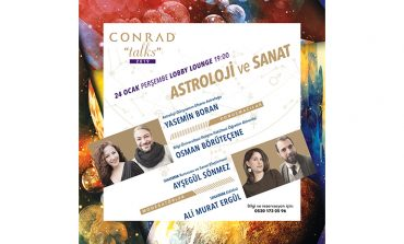 """Conrad Talks 2019 Ocak ayının teması """"Sanatın Astrolojisi"""""""