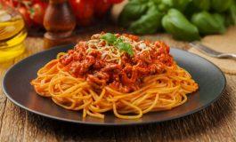 Türklerin favori makarnası 'Spagetti Bolognese' oldu