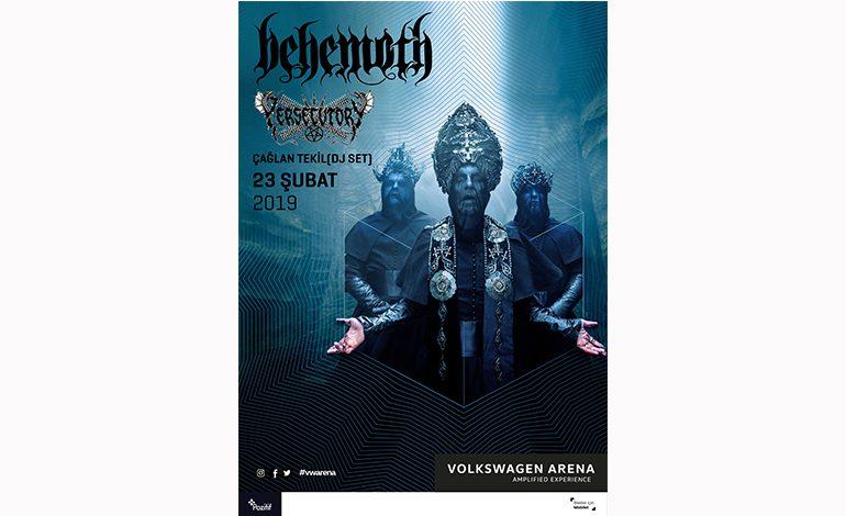 Behemoth Wolksvagen Arena'da