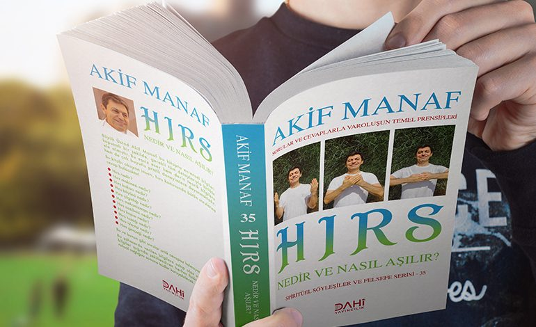 """Akif Manaf'ın yeni kitabı """"Hırs"""" Dahi Yayıncılık etiketiyle yayınlandı!"""