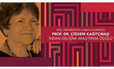 Prof. Dr. Çiğdem Kağıtçıbaşı 'İnsan Gelişimi Araştırma Ödülü'ne Başvurular Başladı