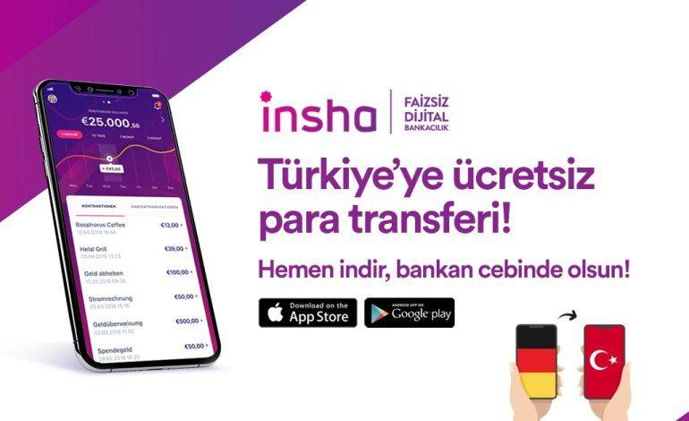 """Albaraka Türk'ün dijtal bankacılık hizmeti """"INSHA"""" ücretsiz para transferlerine başladı"""