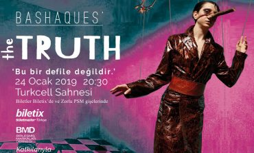 Başak Cankeş'in 'THE TRUTH' - 'GERÇEK' isimli performansı 24 Ocak'ta Zorlu PSM'de !