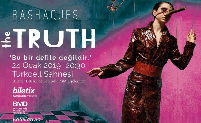 Başak Cankeş'in 'THE TRUTH' – 'GERÇEK' isimli performansı 24 Ocak'ta Zorlu PSM'de !