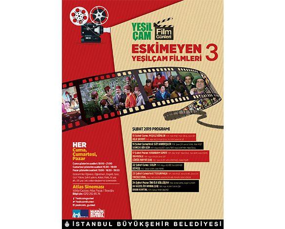 İBB 3.Yeşilçam Film Günleri 15 Şubat'ta başlıyor