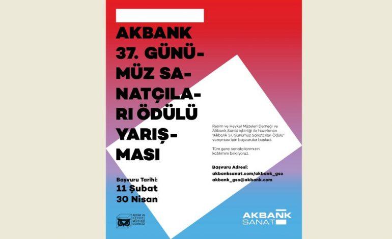 Akbank 37. Günümüz Sanatçıları Ödülü Yarışması'na Başvurular Başladı