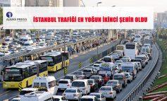 İstanbul Trafiği En Yoğun İkinci Şehir Oldu