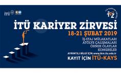 """İTÜ Kariyer Zirvesi Başlıyor """"Yeteneğe Dokun"""""""