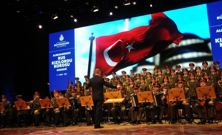 Kızılordu Korosu Ücretsiz İki Konserle İstanbullularla Buluşacak