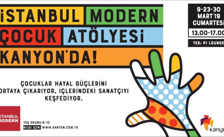 """Kanyon'dan Çocuklar İçin İstanbul Modern İle """"Baskı Resim Atölyesi"""""""