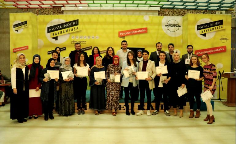 Bayrampaşa'da Gençler Kitap Yazdı