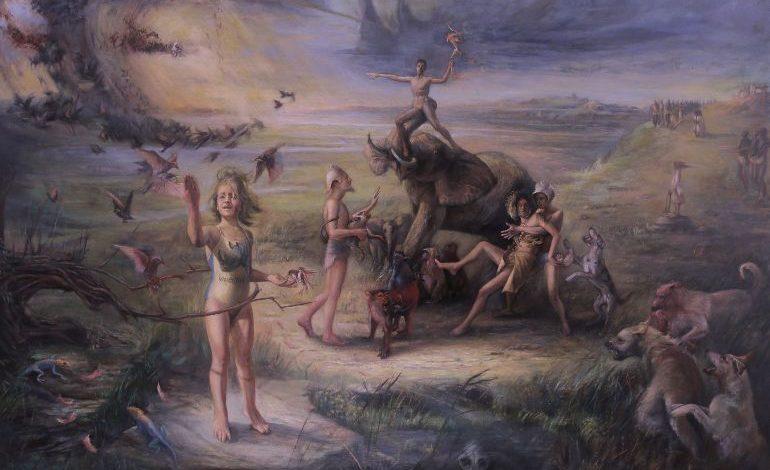 Feyzan Alasya'nın ''Biraz Cennet, Bİraz Cehennem'' Sergisi Galeri Diani'de