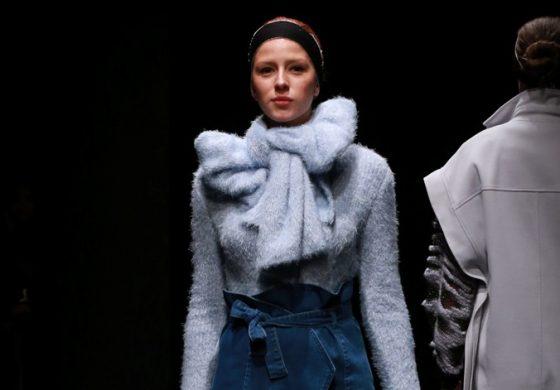 Moda Haftasının Tek Triko Tasarımcısı Öner Özkan Defilesiyle Göz Kamaştırdı