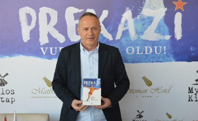 """Prekazi """"Vurdu Gol Oldu"""" Kitabını İstanbul'da Tanıttı"""
