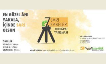 """Fotoğraf tutkunları """"Sarı Kareler"""" için 7. kez deklanşöre basacak"""