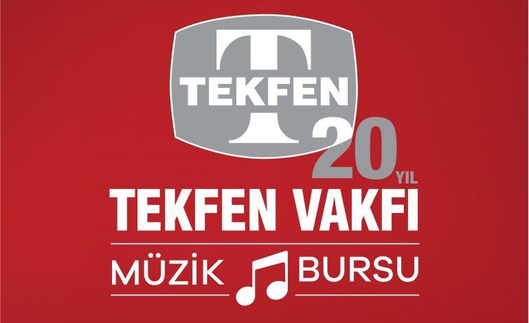 Tekfen Vakfı, kuruluşunun 20'inci yıl dönümünde, Müzik Bursu programını başlatıyor