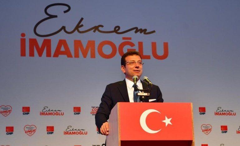 Ekrem İmamoğlu: Biz 16 milyon İstanbullu, 23 Haziran'da emaneti geri almaya geliyoruz