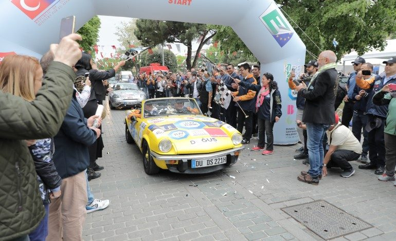Europa Orient Rallye dostluk ve barış için 14. Kez İstanbul'dan start aldı