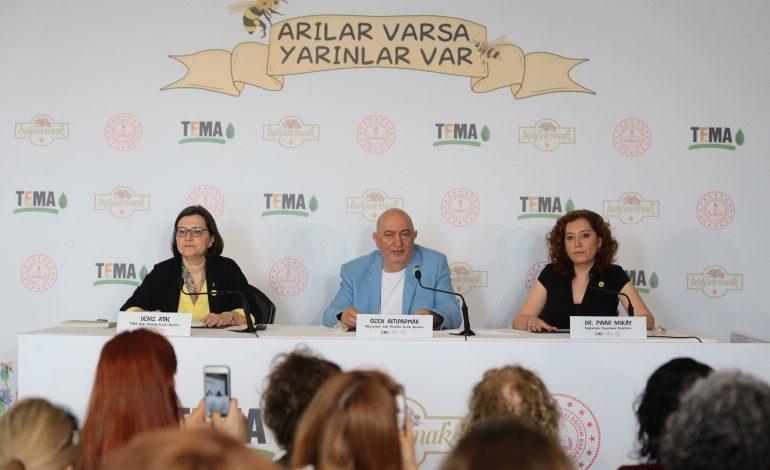 """TEMA Vakfı, Balparmak ve Millî Eğitim Bakanlığı'ndan Önemli Proje """"Arılar Varsa Yarınlar Var"""""""