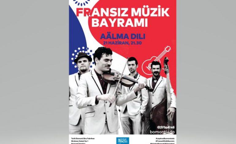 Yapı Kredi bomontiada ve İstanbul Fransız Kültür Merkezi Fransız Müzik Bayramı'nı konserlerle kutlayacak