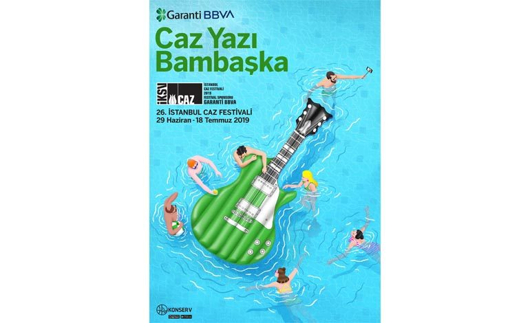 """İstanbul Caz Festivali ile """"Caz Yazı Bambaşka!"""""""