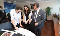 """Başkan İmamoğlu, """"Saraçhane binasına kütüphane"""" vaadi için çalışmalara başladı"""
