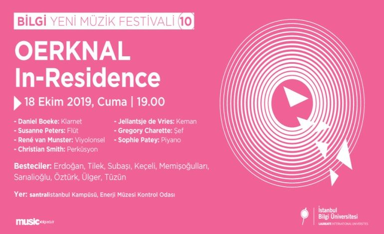 Çağdaş müziğin tınısı İstanbul'da yankılanacak