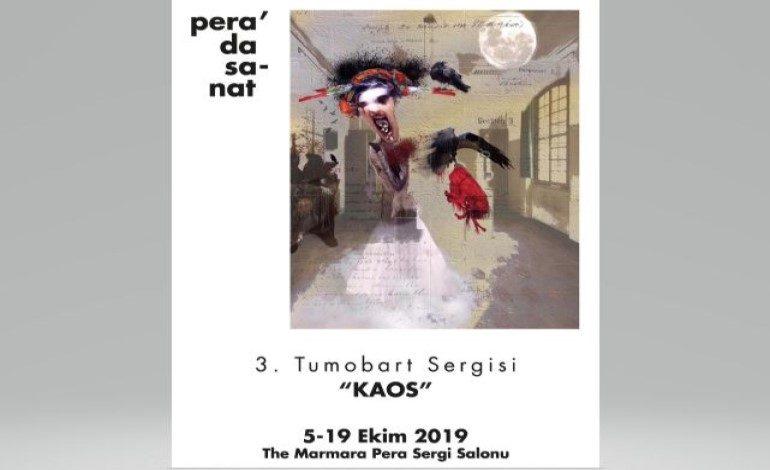 TuMobArt'ın Kaos Temalı Mobil Sanat Sergisi The Marmara Pera'da