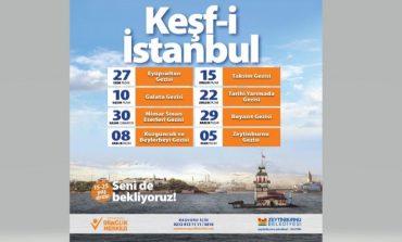 Genç Kaşifler için 'Keşf-i İstanbul' Gezileri Başlıyor