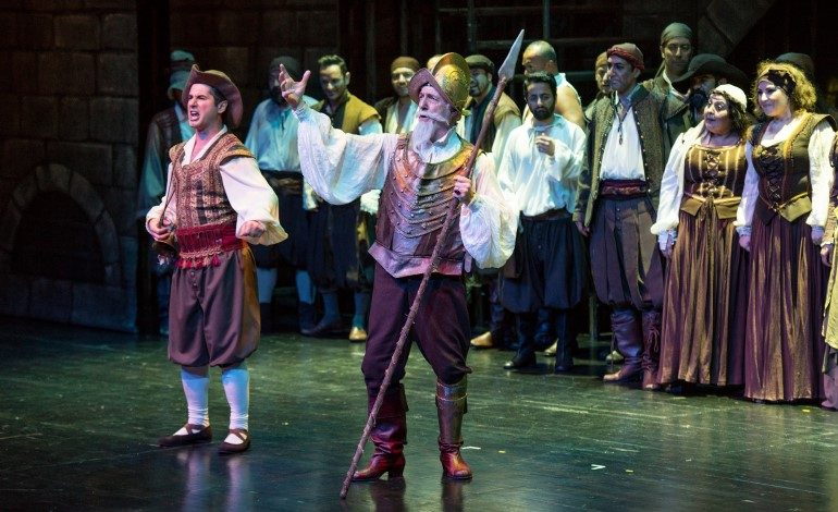 "İstanbul Devlet Opera ve Balesi,""MANÇALI ADAM"" (Man of La Mancha) Müzikali ile Kadıköy Süreyya Opera Sahnesi'nde"