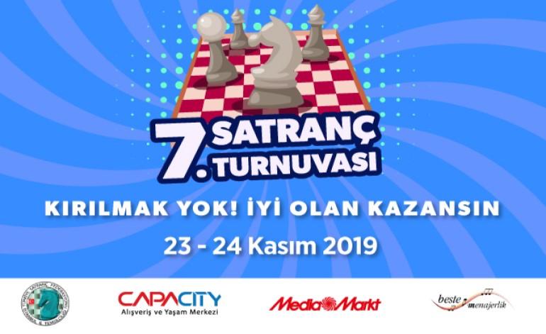 7. Geleneksel Capacity Satranç Turnuvası Başlıyor!