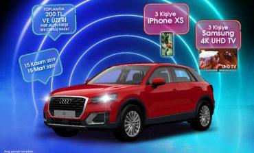 İstMarina AVM'de 200 TL alışverişe Audi Q2 kazanma şansı