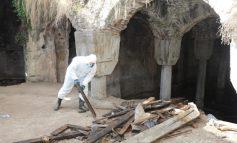 İBB, Çöplüğe Dönüşen Kirmasti Sarnıcı'na Sahip Çıktı