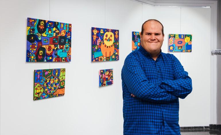 """""""Umut: Duvarımdaki Renkler"""" sergisi sanatseverlerle buluşuyor"""