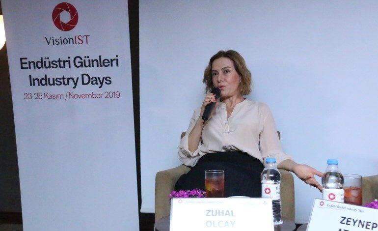 """VisionIST 'Endüstri Günleri'nde Zuhal Olcay'dan oyunculara öneri: """"Şizoid Yaklaşım"""""""