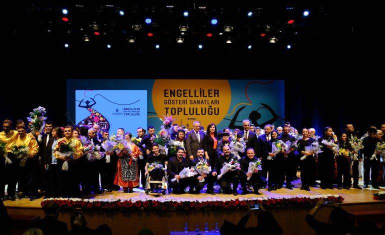 Engelli Bireyler Yedi Bölgeyi Müzik ve Dansla Birleştirdi