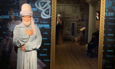 Madame Tussauds'da bulunan Mevlana figürü, Şeb-i Arus'ta ziyaretçileri bir sürprizle karşılıyor!