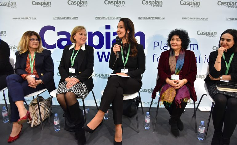 World Economic Forum'da Kadın Liderler Oturumunda Türkiye'yi Adviye Bergemann Temsil Etti