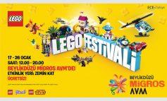 Sömestr Tatilinde Çocuklar Beylikdüzü Migros AVM LEGO® Festivali'nde Buluşuyor