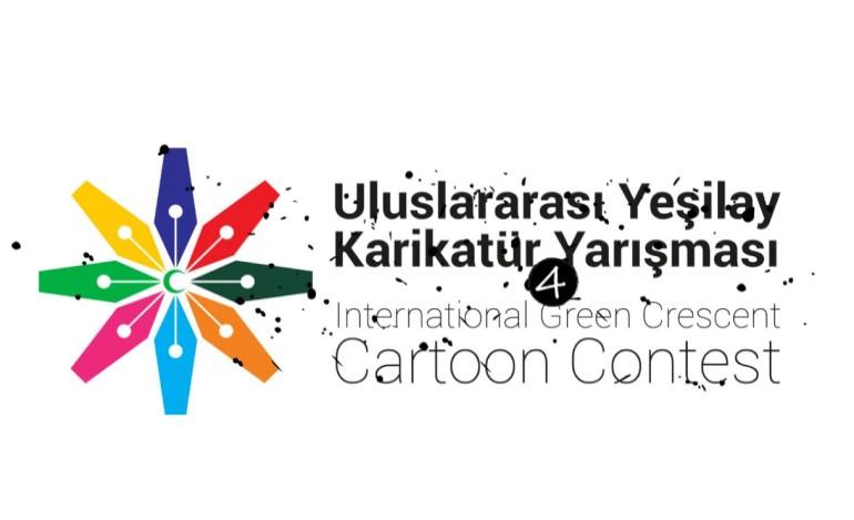 Dünyaca ünlü karikatüristler 4. Uluslararası Yeşilay Karikatür Yarışması'nda