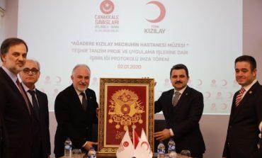 Ağadere Kızılay Mecruhin Hastanesi Müzesi Mart Ayında Açılıyor
