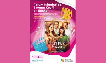 Eltilerin Savaşı filminin oyunculu gösterimi Forum İstanbul'da