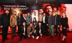 """""""Sıfır Bir"""" Filminin İlk Galası İstanbul'da Yapıldı"""