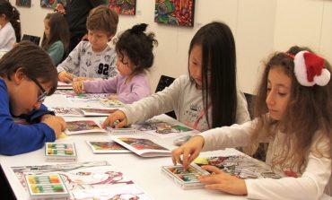 Çocuklar için sanat atölyesi, 'Şehrimi Boyuyorum'-11 Ocak Cumartesi saat :15:00- Trump Art Gallery